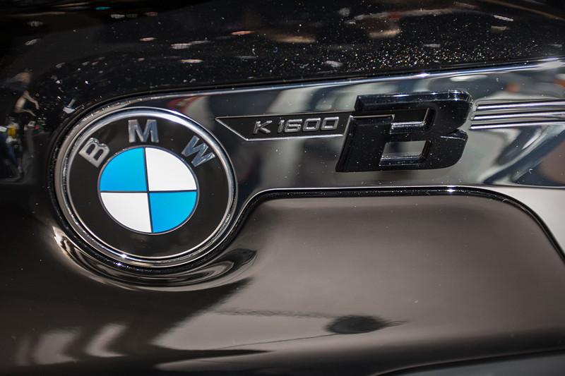 BMW Motorrad K 1600 B, Typbezeichnung auf dem Tank