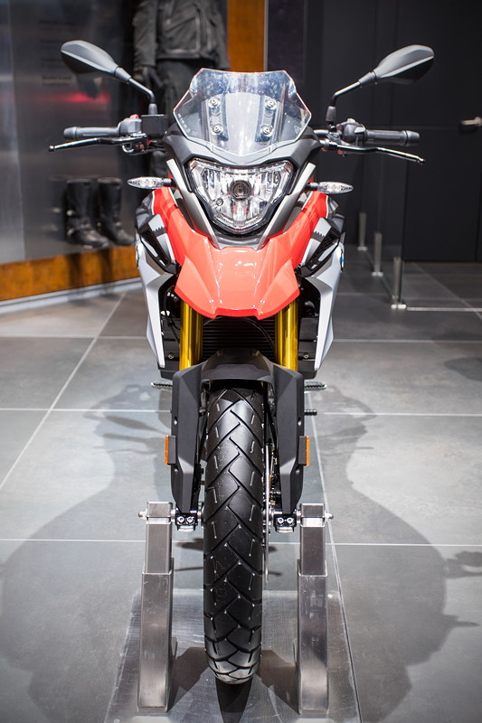 BMW Motorrad G 310 GS, im 500er Hubraum Segment, 34 PS