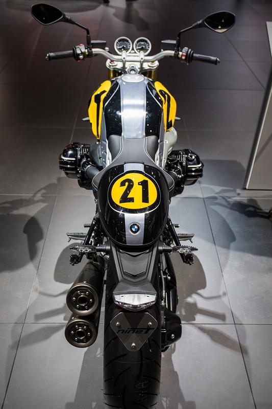 BMW Motorrad R nineT, auf der IAA 2017 in Frankfurt