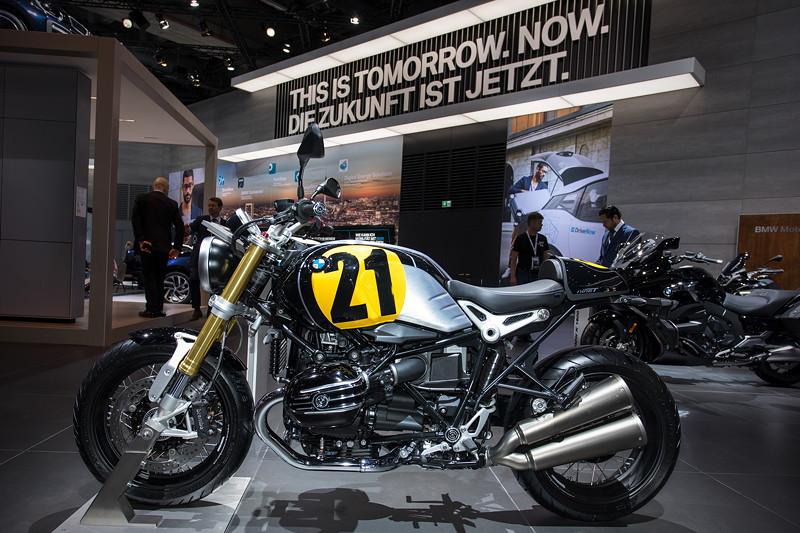 BMW Motorrad R nineT mit neuer 'BMW Motorrad Spezial' Ausstattung