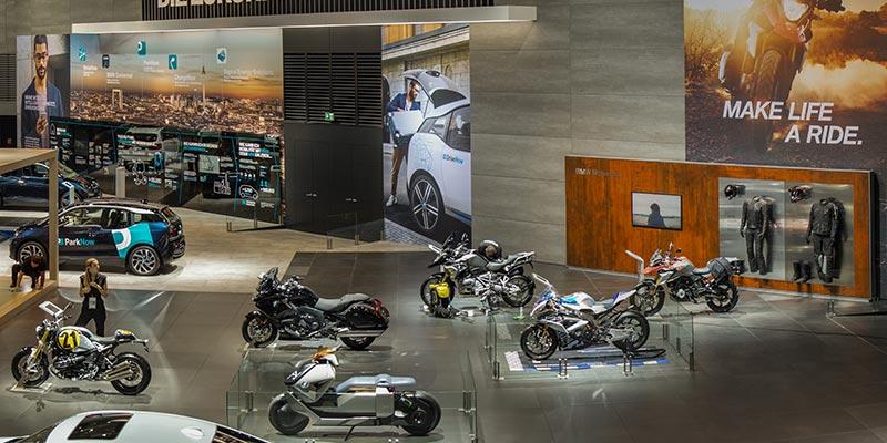 BMW Motorrad auf dem BMW Messestand, Halle 11, IAA 2017