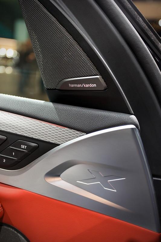 BMW X3 xDrive M40i, neue Details werten den Innenraum auf