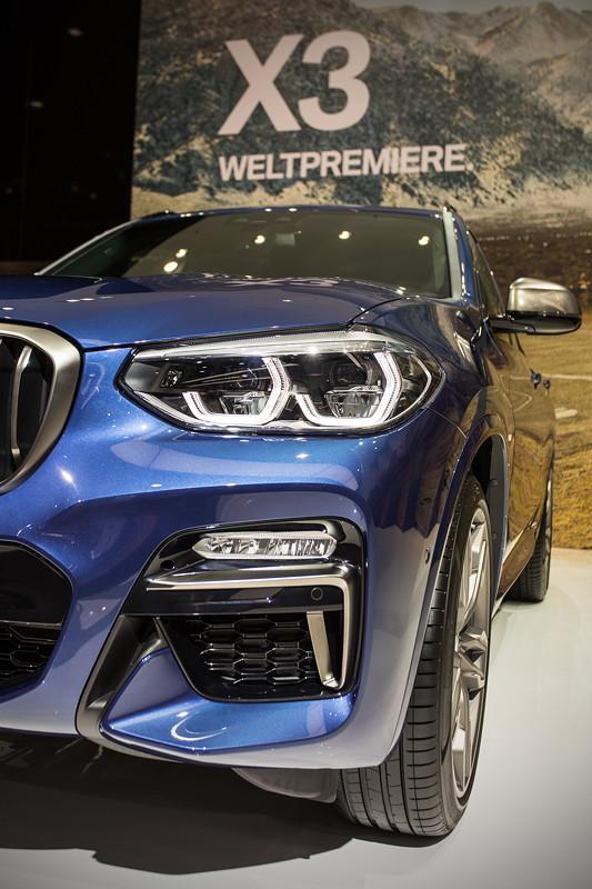 BMW X3 xDrive M40i in der BMW X Ausstellung auf der IAA