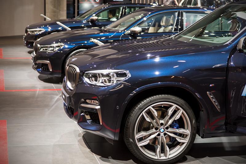 BMW X3 xDrive M40i in der BMW M Ausstellung auf der IAA 2017
