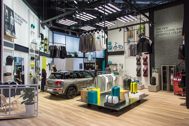 Auch die neue John Cooper Works Kollektion zeigt MINI in Frankfurt