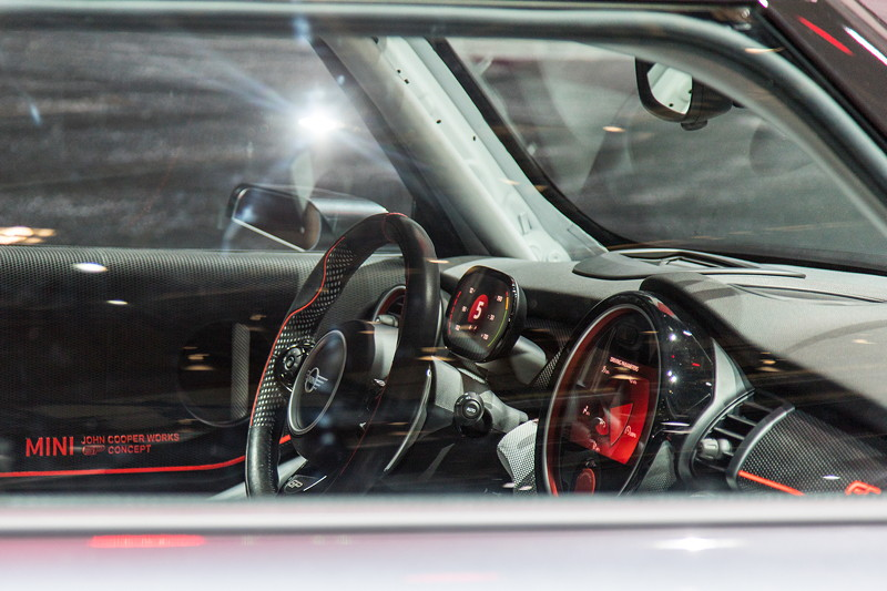 MINI John Cooper Works GP Concept, Blick in den Innenraum