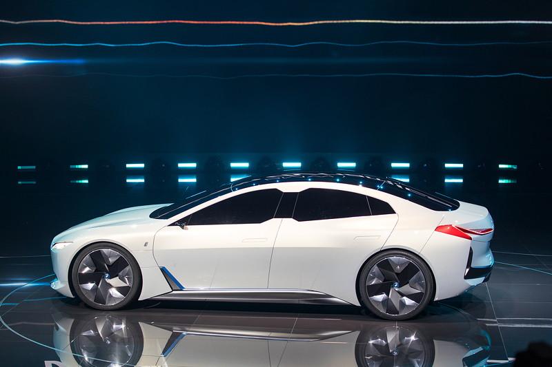 BMW i Vision Dynamics, erstmals vorgestellt bei der BMW Group Pressekonferenz, IAA 2017.