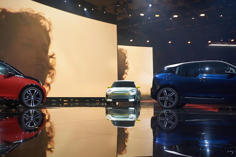 BMW Group Pressekonferenz auf der IAA 2017.