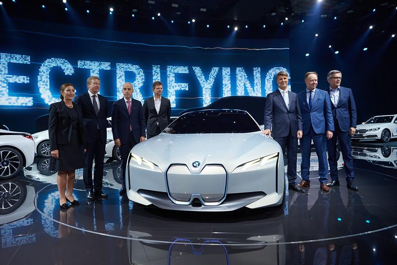 BMW Group Vorstand bei der BMW Group Pressekonferenz 2017, IAA 2017.