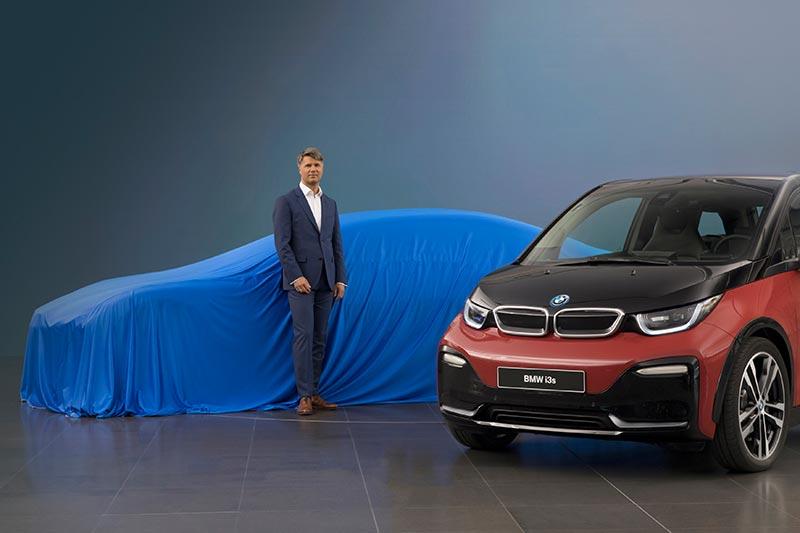 Harald Krüger, Vorsitzender des Vorstands der BMW AG, gibt einen Ausblick auf die IAA 2017