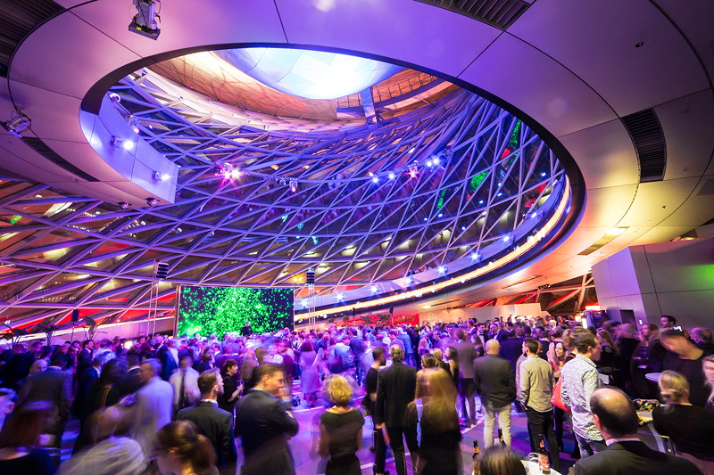 Die iF Design Award Night 2017 am 10.03.2017 in der BMW Welt in München.