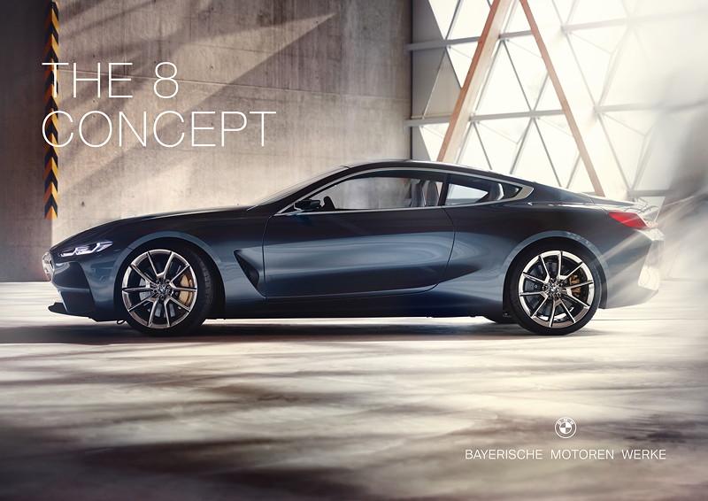 Neuer Markenauftritt fuer die Modelloffensive im BMW Luxussegment. BMW 8er.