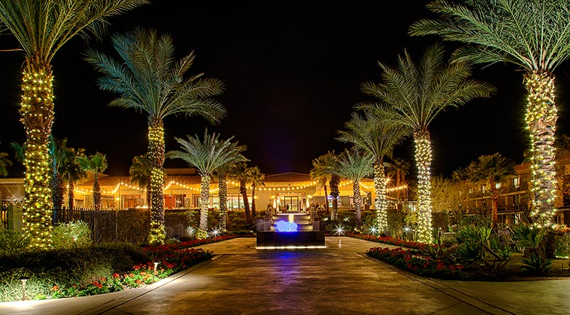 Ritz Carlton Hotel in Rancho Mirage bei Palm Springs