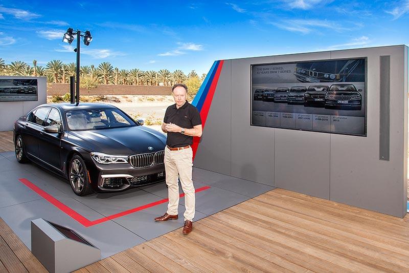 Pressekonferenz: BMW Vorstand Ian Robertson