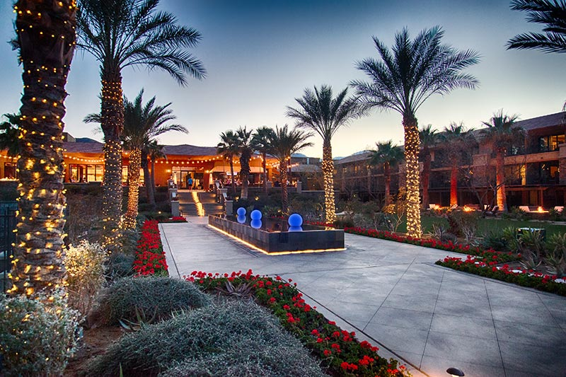 Ritz Carlton Hotel in Rancho Mirage bei Palm Springs
