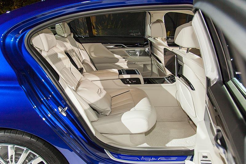 BMW M760Li V12 Excellence Individual (G12) in Individual Vollleder Ausstattung