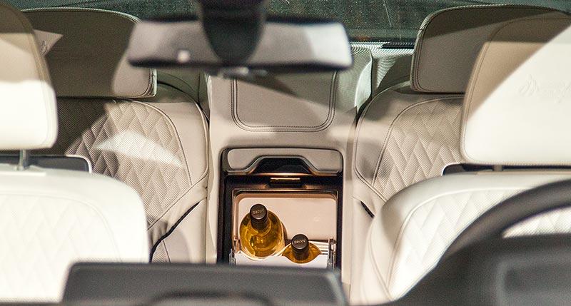 BMW M760Li V12 Excellence Individual (G12), BMW Individual Kühlbox