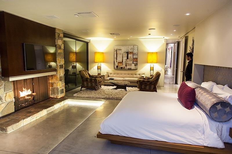 Haus '432 Hermosa' von Leonardo di Caprio, Haupt-Schlafzimmer