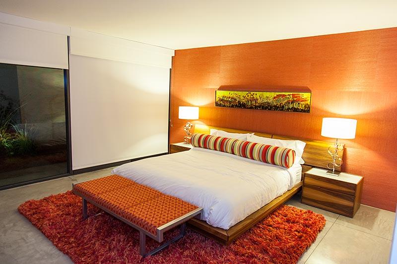 Haus '432 Hermosa' von Leonardo di Caprio, weiteres Schlafzimmer