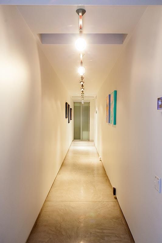 Haus '432 Hermosa' von Leonardo di Caprio, Diele