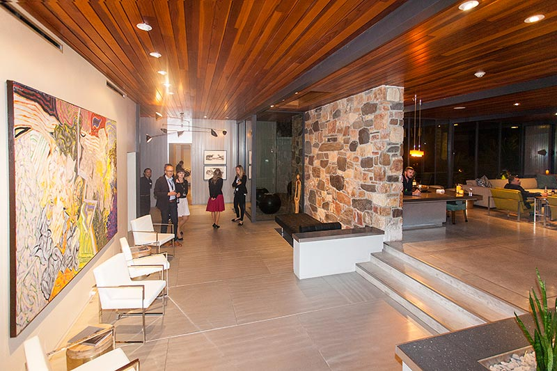 Haus '432 Hermosa' von Leonardo di Caprio, Eingangsbereich, Foyer