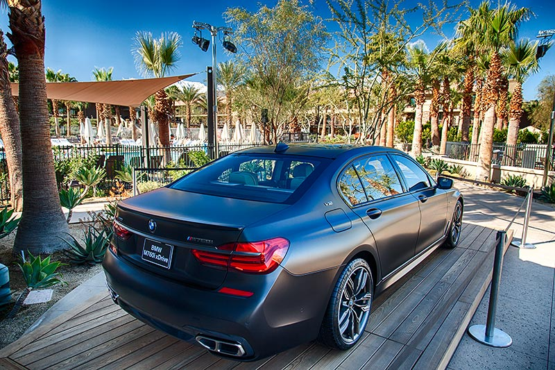 BMW M760Li xDrive, Ritz Carlton Hotel in Rancho Mirage bei Palm Springs