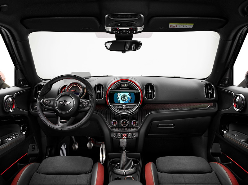 MINI John Cooper Works Countryman, Interieur vorne