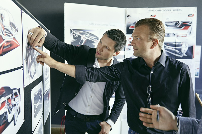 MINI John Cooper Works GP Concept, Design Prozess