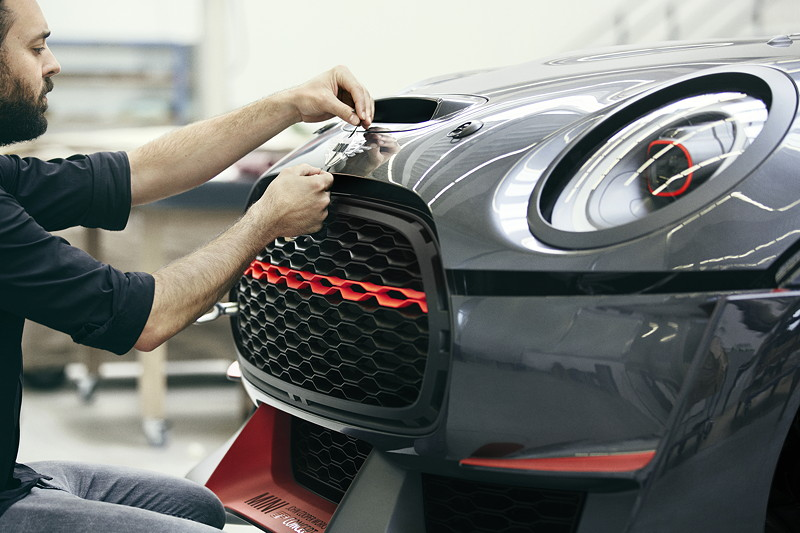 MINI John Cooper Works GP Concept, Design Prozess