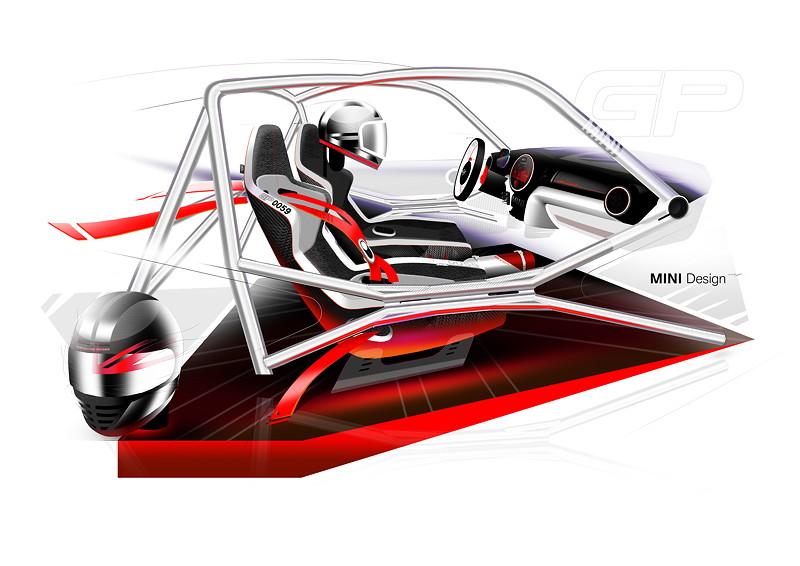 MINI John Cooper Works GP Concept, Designskizze