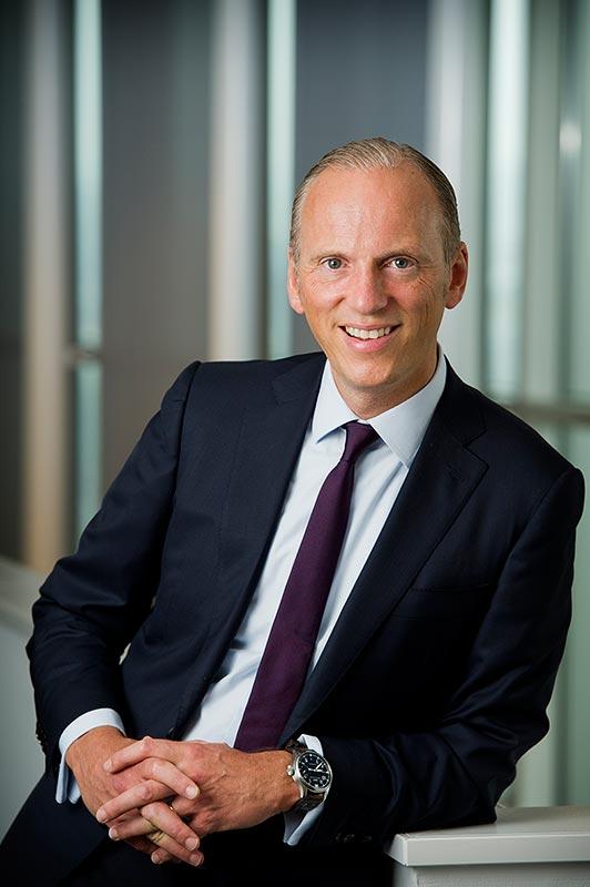 Pieter Nota, Mitglied des Vorstands der BMW AG, Vertrieb und Marke BMW, Aftersales BMW Group (ab 01/2018).
