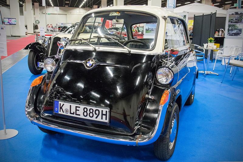 Retro Classics Cologne 2017: BMW 600, ausgestellt vom BMW Club Mobile Classic e.V.