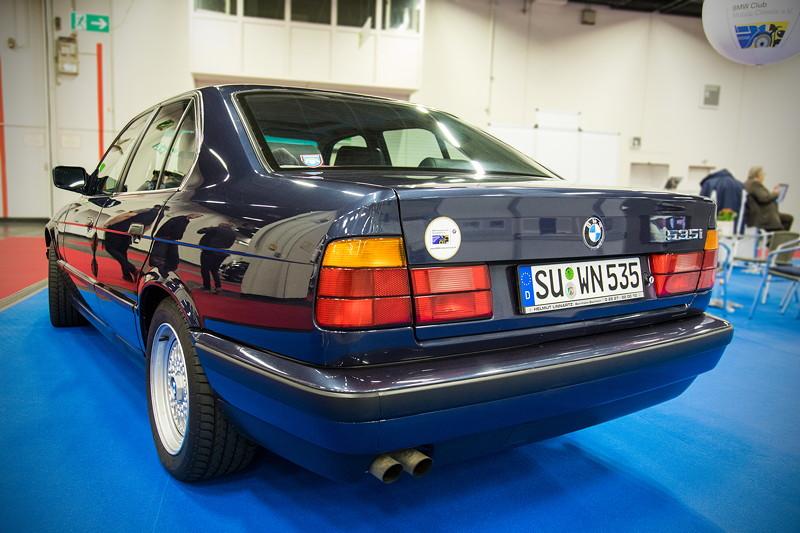 Retro Classics Cologne 2017: BMW 535i (E34), ausgestellt vom BMW Club Mobile Classic e.V.