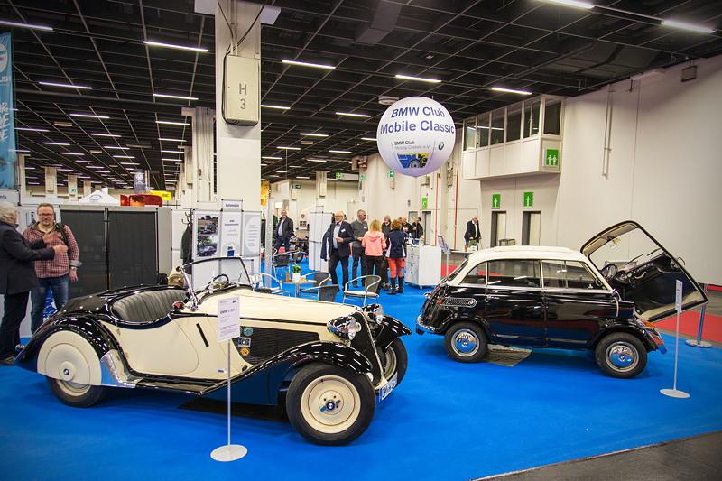 BMW Club Mobile Classic e.V. auf der Retro Classics 2017