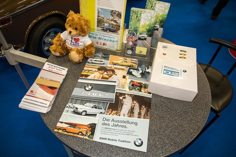 Retro Classics Cologne 2017: Stand vom BMW 02 Club e.V.