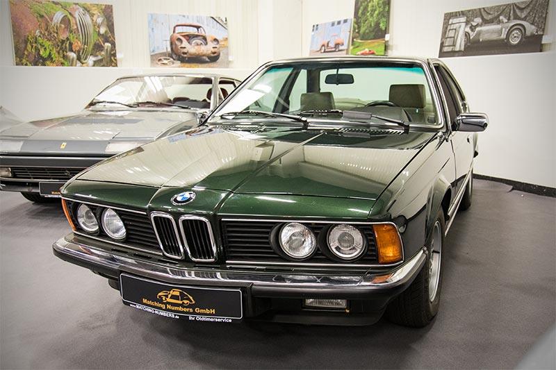 Retro Classics Cologne 2017: BMW 628 CSi (E24), Baujahr 06.1987, laut KBA sind aktuell nur noch 228 Fahrzeuge zugelassen, Preis: 29.900 Euro.
