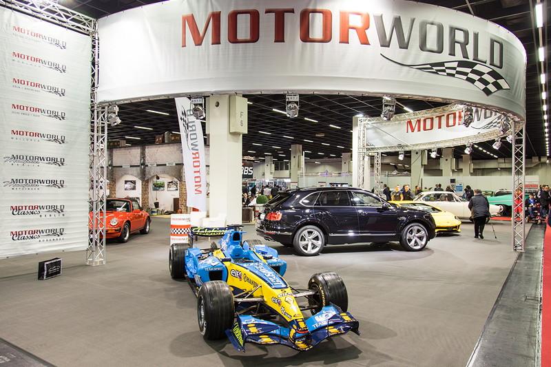 Retro Classics Cologne 2017: die Motor World stellte sich vor, ab 2. Quartal 2018 öffnet sie ihre Tore am ehemaligen 'Luftkreuz des Westens' in Köln.