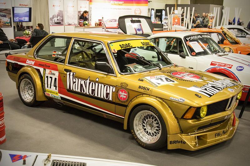 Retro Classics Cologne 2017: BMW 3er der ersten Generation E21 in einer Motorsportvariante