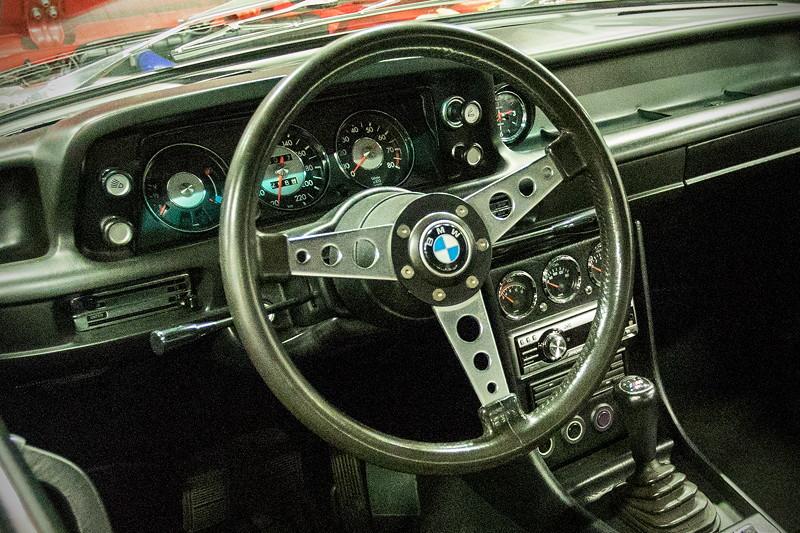 Retro Classics CologneRetro Classics Cologne 2017: BMW 2002, Cockpit.