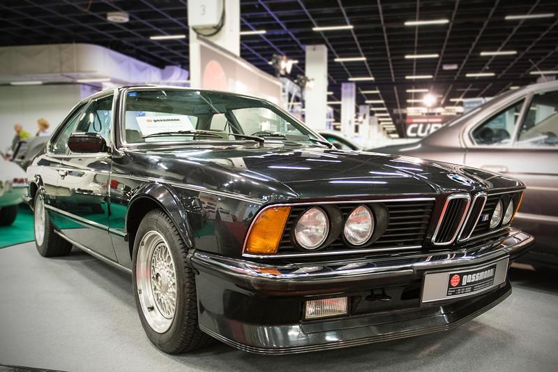Retro Classics Cologne 2016: BMW 635 CSi 'M6' (E24), EZ: 01.1986, 113.000 km gelaufen, Preis: 99.000 Euro.