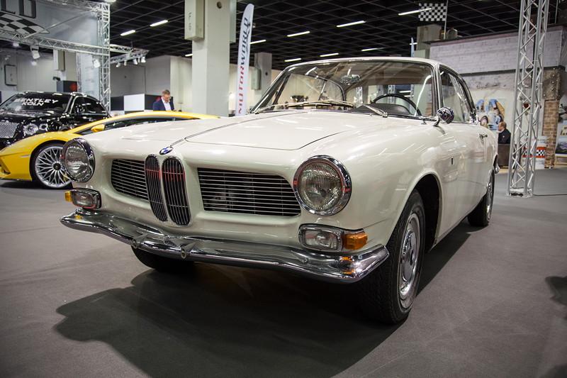 Retro Classics Cologne 2017: BMW 3200 CS auf dem Stand der Motor World.