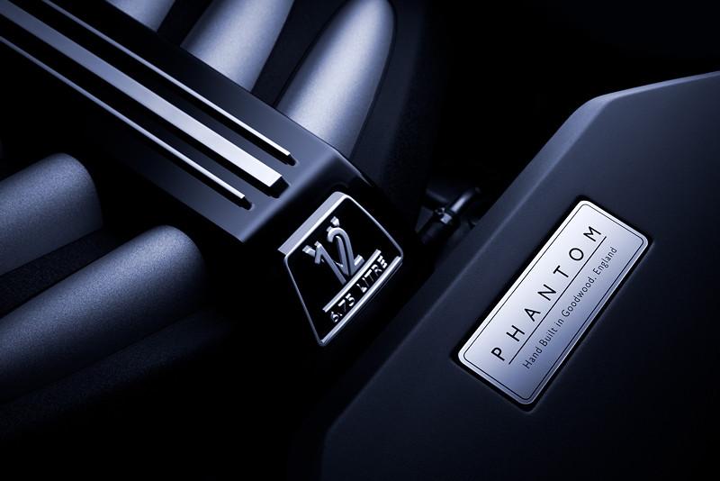 Rolls-Royce Phantom, 6.75 Liter V12-Motor mit 571 PS und 900 Nm