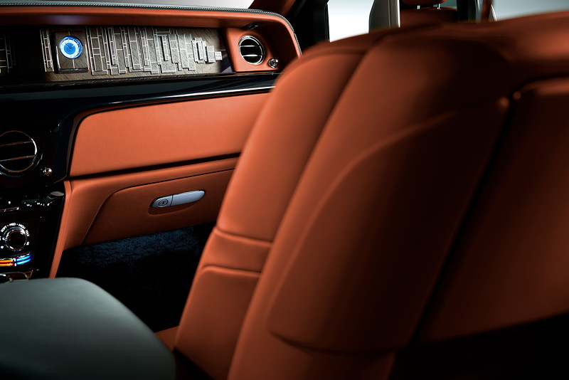 Rolls-Royce Phantom, Interieur