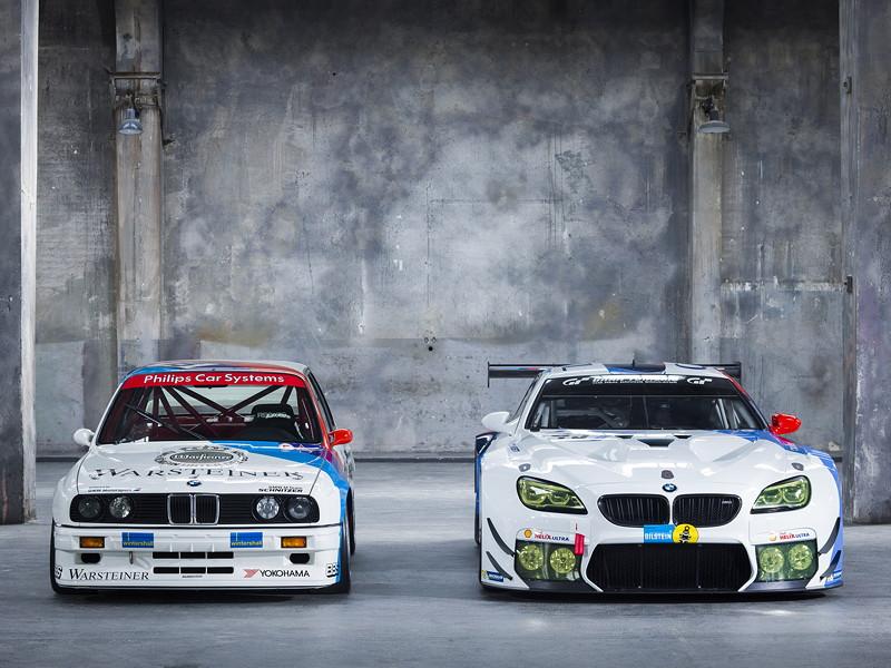 BMW M6 GT3, BMW M3 E30, BMW Team Schnitzer, Livery, Design, Shooting, Historie.