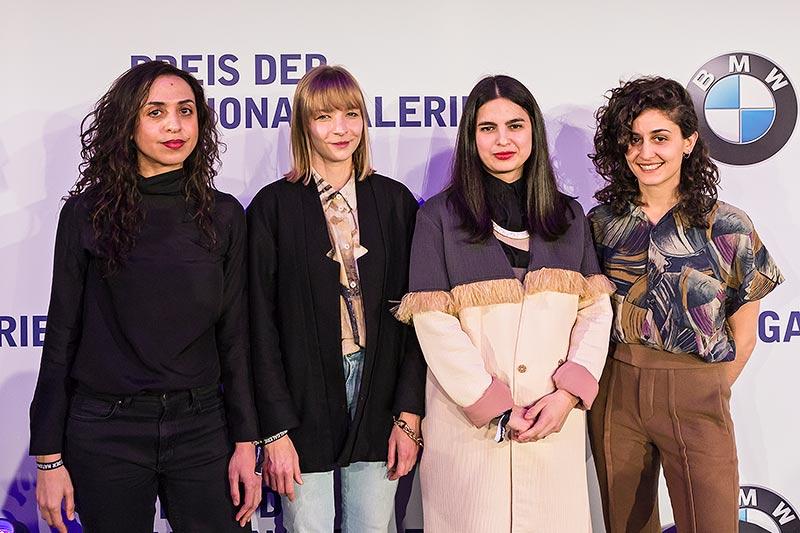 Shortlist Preis der Nationalgalerie 2017. Sol Calero, Iman Issa, Jumana Manna sowie Agnieszka Polska nominiert.