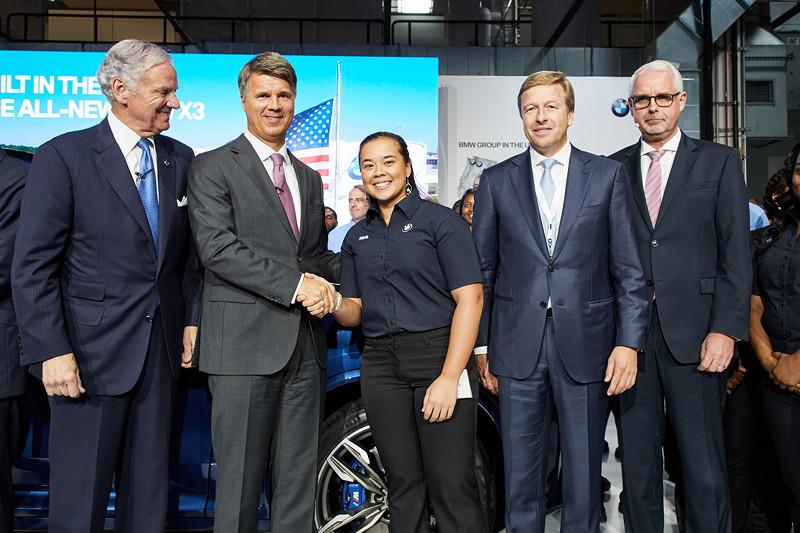 Veranstaltung 25 Jahre BMW Group Werk Spartanburg am 26. Juni 2017