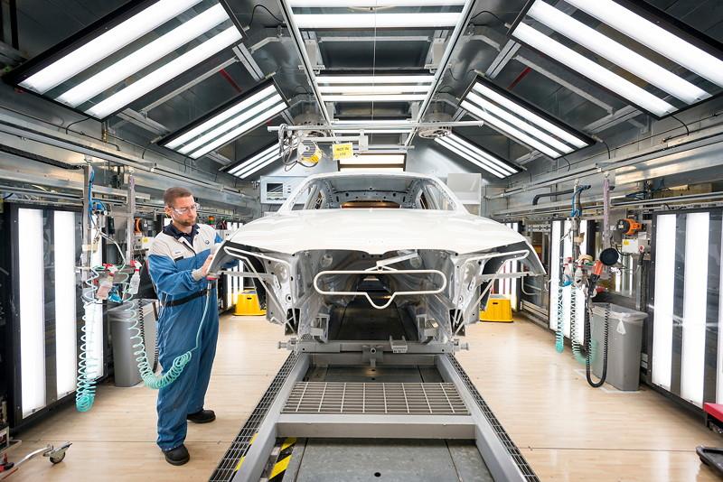 BMW Group Werk Spartanburg: Lackiererei
