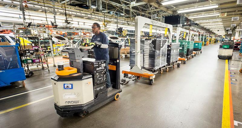 BMW Group Werk Spartanburg: Logistik
