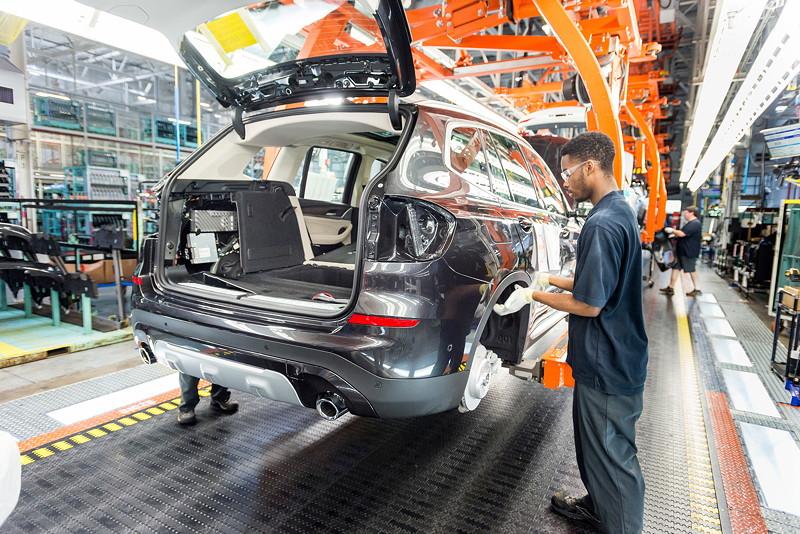 BMW Group Werk Spartanburg: Montage des neuen BMW X3