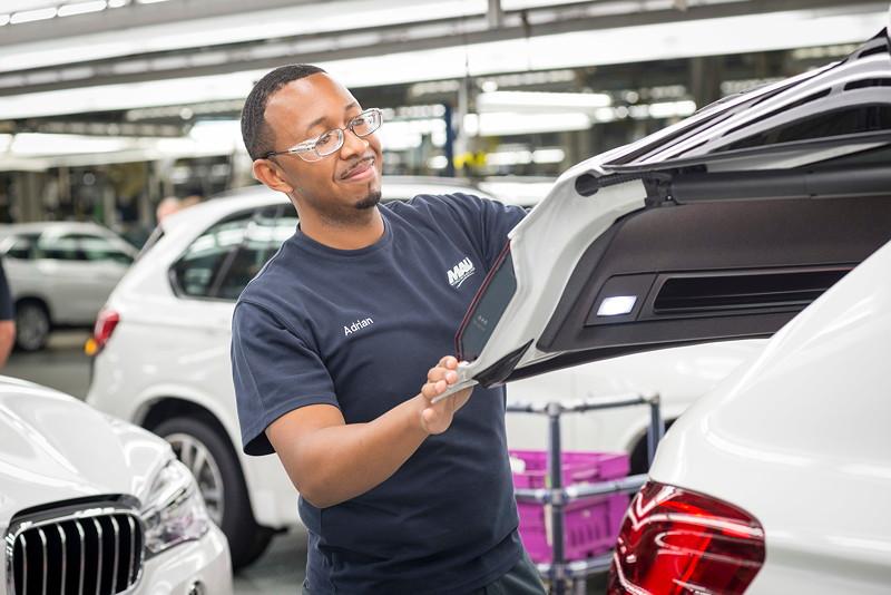 BMW Group Werk Spartanburg: Montage des BMW X5